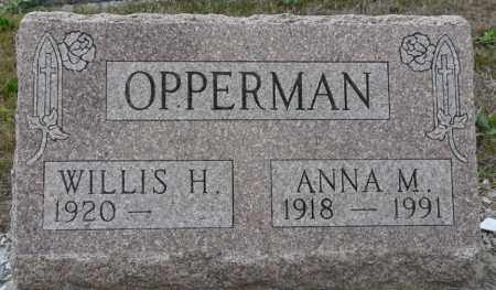 BARTLETT OPPERMAN, ANNA MARY - Auglaize County, Ohio | ANNA MARY BARTLETT OPPERMAN - Ohio Gravestone Photos