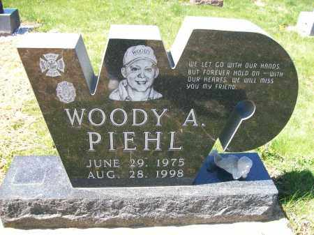 PIEHL, WOODY A. - Auglaize County, Ohio   WOODY A. PIEHL - Ohio Gravestone Photos