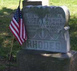 RHODES, IRA - Auglaize County, Ohio | IRA RHODES - Ohio Gravestone Photos