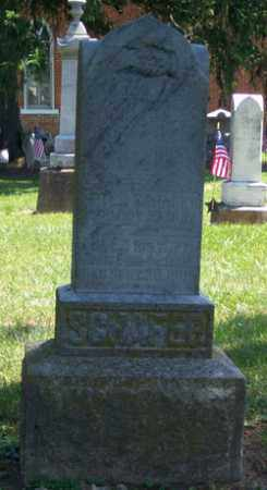 SCHAFER, PETER - Auglaize County, Ohio | PETER SCHAFER - Ohio Gravestone Photos
