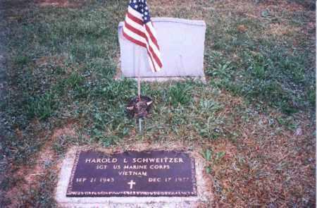 SCHWEITZER, HAROLD L - Auglaize County, Ohio   HAROLD L SCHWEITZER - Ohio Gravestone Photos