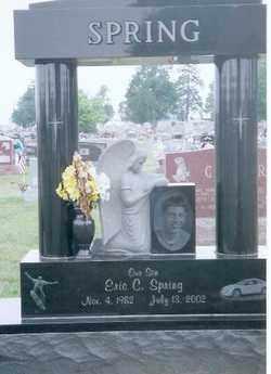 SPRING, ERIC C - Auglaize County, Ohio   ERIC C SPRING - Ohio Gravestone Photos