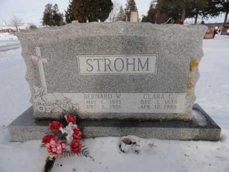 STROHM, CLARA C. - Auglaize County, Ohio | CLARA C. STROHM - Ohio Gravestone Photos