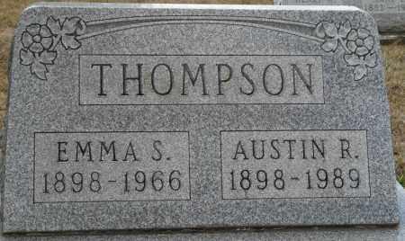 THOMPSON, EMMA S - Auglaize County, Ohio | EMMA S THOMPSON - Ohio Gravestone Photos