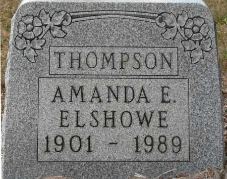 ELSHOWE THOMPSON, AMANDA ELIZABETH - Auglaize County, Ohio | AMANDA ELIZABETH ELSHOWE THOMPSON - Ohio Gravestone Photos