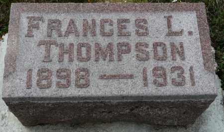 THOMPSON, FRANCES LEONA - Auglaize County, Ohio | FRANCES LEONA THOMPSON - Ohio Gravestone Photos