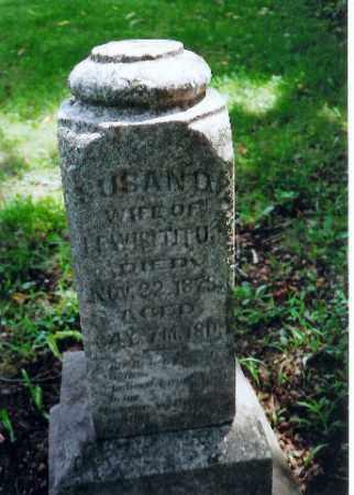 TITUS, SUSAN - Auglaize County, Ohio   SUSAN TITUS - Ohio Gravestone Photos