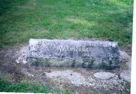 WAGNER, MATHIAS - Auglaize County, Ohio | MATHIAS WAGNER - Ohio Gravestone Photos