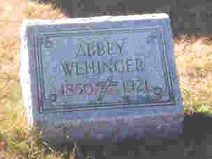 WEHINGER, APPOLONIA-ABIGAIL - Auglaize County, Ohio | APPOLONIA-ABIGAIL WEHINGER - Ohio Gravestone Photos
