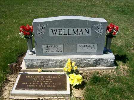 WELLMAN, MARIAN F. - Auglaize County, Ohio | MARIAN F. WELLMAN - Ohio Gravestone Photos