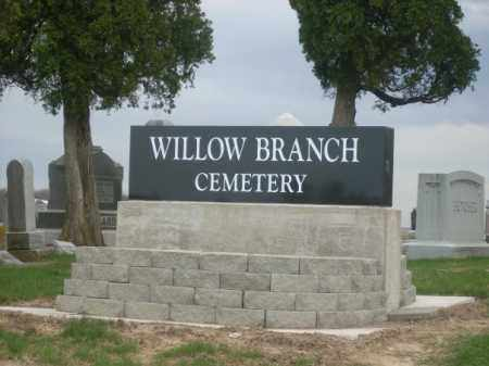 WILLOW, BRANCH - Auglaize County, Ohio | BRANCH WILLOW - Ohio Gravestone Photos