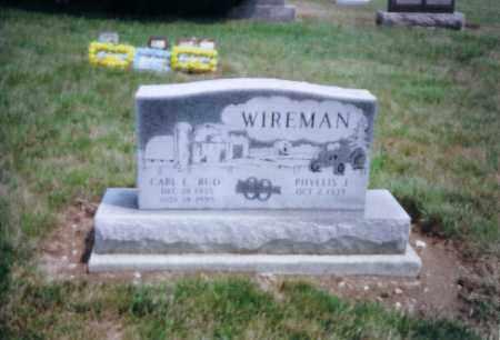 WIREMAN, CARL - Auglaize County, Ohio | CARL WIREMAN - Ohio Gravestone Photos