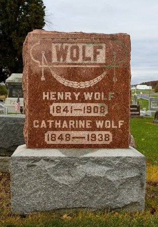 WOLF, CATHARINE - Auglaize County, Ohio | CATHARINE WOLF - Ohio Gravestone Photos