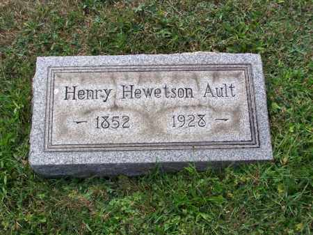 AULT, HENRY HEWETSON - Belmont County, Ohio | HENRY HEWETSON AULT - Ohio Gravestone Photos