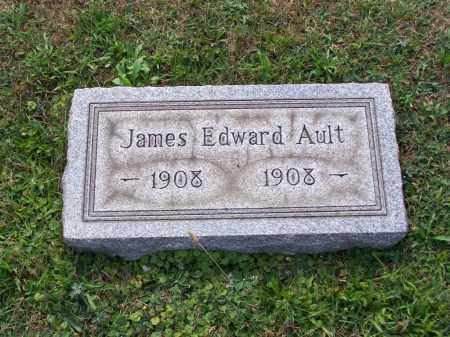 AULT, JAMES EDWARD - Belmont County, Ohio   JAMES EDWARD AULT - Ohio Gravestone Photos