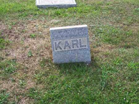 AULT, KARL - Belmont County, Ohio | KARL AULT - Ohio Gravestone Photos