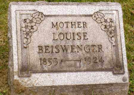 BEISWENGER, LOUISE - Belmont County, Ohio   LOUISE BEISWENGER - Ohio Gravestone Photos