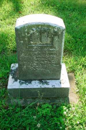 BOND, A - Belmont County, Ohio   A BOND - Ohio Gravestone Photos