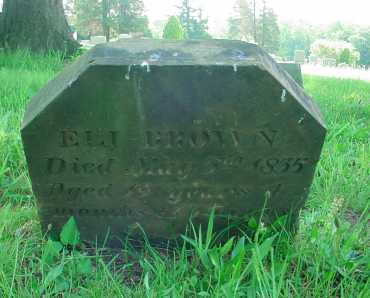 BROWN, ELI - Belmont County, Ohio | ELI BROWN - Ohio Gravestone Photos