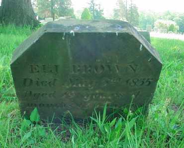 BROWN, ELI - Belmont County, Ohio | ELI BROWN - Ohio Gravestone Photos