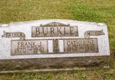 BURKLE, FRANK J - Belmont County, Ohio | FRANK J BURKLE - Ohio Gravestone Photos