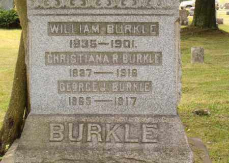 BURKLE, GEORGE J - Belmont County, Ohio | GEORGE J BURKLE - Ohio Gravestone Photos