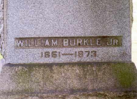 BURKLE, WILLIAM JR - Belmont County, Ohio   WILLIAM JR BURKLE - Ohio Gravestone Photos