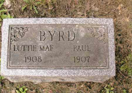 BYRD, LOTTIE MAE - Belmont County, Ohio | LOTTIE MAE BYRD - Ohio Gravestone Photos