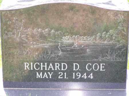 COE, RICHARD D - Belmont County, Ohio | RICHARD D COE - Ohio Gravestone Photos