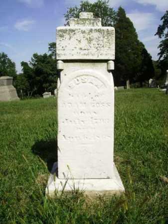 COSS, SUSAN - Belmont County, Ohio | SUSAN COSS - Ohio Gravestone Photos