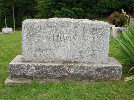 GATTEN DAVIS, MARY LOUISA - Belmont County, Ohio | MARY LOUISA GATTEN DAVIS - Ohio Gravestone Photos