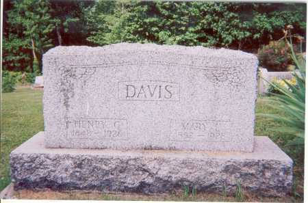 DAVIS, MARY L. - Belmont County, Ohio | MARY L. DAVIS - Ohio Gravestone Photos