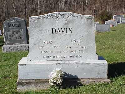 DAVIS, FLORA - Belmont County, Ohio | FLORA DAVIS - Ohio Gravestone Photos