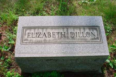 DILLON, ELIZABETH - Belmont County, Ohio   ELIZABETH DILLON - Ohio Gravestone Photos