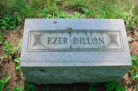 DILLON, EZER - Belmont County, Ohio | EZER DILLON - Ohio Gravestone Photos