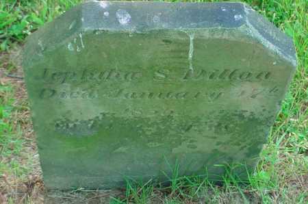 DILLON, JEPHIHA S - Belmont County, Ohio   JEPHIHA S DILLON - Ohio Gravestone Photos