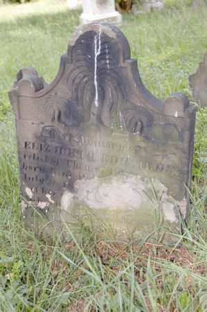 WATKINS EDWARDS, ELIZABETH - Belmont County, Ohio | ELIZABETH WATKINS EDWARDS - Ohio Gravestone Photos