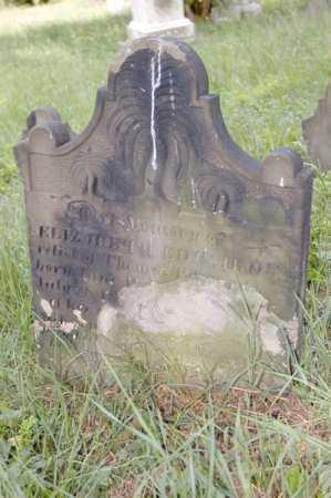 EDWARDS, ELIZABETH - Belmont County, Ohio   ELIZABETH EDWARDS - Ohio Gravestone Photos