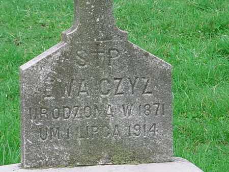 EWA, CZYZ - Belmont County, Ohio | CZYZ EWA - Ohio Gravestone Photos