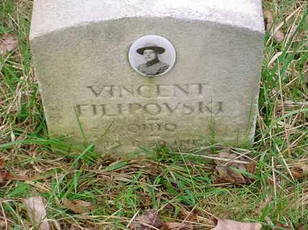 FILIPOVSKI, VINCENT - Belmont County, Ohio   VINCENT FILIPOVSKI - Ohio Gravestone Photos