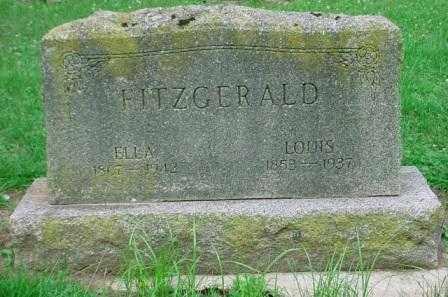 FITZGERALD, LOUIS - Belmont County, Ohio | LOUIS FITZGERALD - Ohio Gravestone Photos