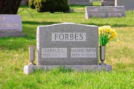 FORBES, MAXINE - Belmont County, Ohio | MAXINE FORBES - Ohio Gravestone Photos