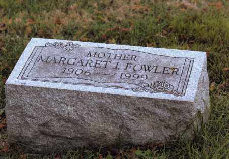 FOWLER, MARGARET IRENE - Belmont County, Ohio | MARGARET IRENE FOWLER - Ohio Gravestone Photos