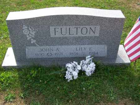 FULTON, JOHN A - Belmont County, Ohio   JOHN A FULTON - Ohio Gravestone Photos