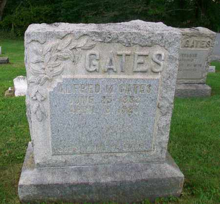 GATES, ALFRED MCCELLAND - Belmont County, Ohio | ALFRED MCCELLAND GATES - Ohio Gravestone Photos