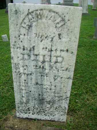BARRETT GATES, HANNAH - Belmont County, Ohio | HANNAH BARRETT GATES - Ohio Gravestone Photos