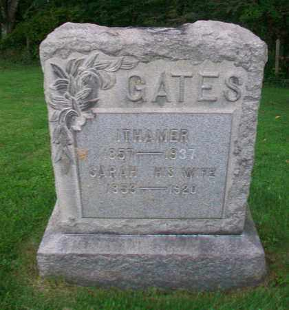 GATES, ITHAMER - Belmont County, Ohio | ITHAMER GATES - Ohio Gravestone Photos
