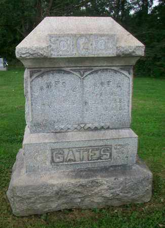 GATES, JAMES BARRETT - Belmont County, Ohio | JAMES BARRETT GATES - Ohio Gravestone Photos