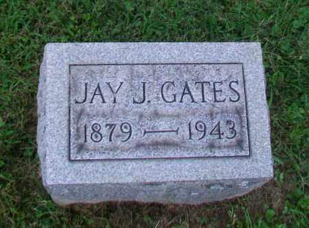 GATES, JOHN J - Belmont County, Ohio   JOHN J GATES - Ohio Gravestone Photos