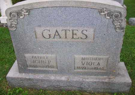 BROWN GATES, VIOLA - Belmont County, Ohio | VIOLA BROWN GATES - Ohio Gravestone Photos